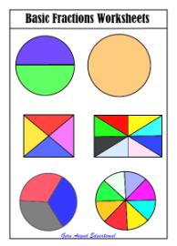 math worksheet : fractions worksheets : Fraction Worksheets For Kids